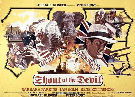 Film Poster for Peter Hunt's Shout at the Devil (1976)