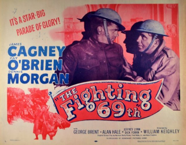https://greatwarfilms.wordpress.com/2014/09/04/the-fighting-69th-1940/